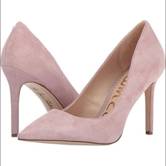 a81894b8e1 SAM EDELMAN Hazel Pumps Heels Pink Mauve Suede 8. M_5bfb2ba004ef50ee71ce1375